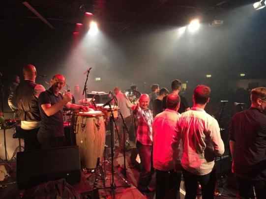On Stage with Snarky Puppy
